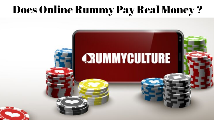 Does playing online rummy win real cash