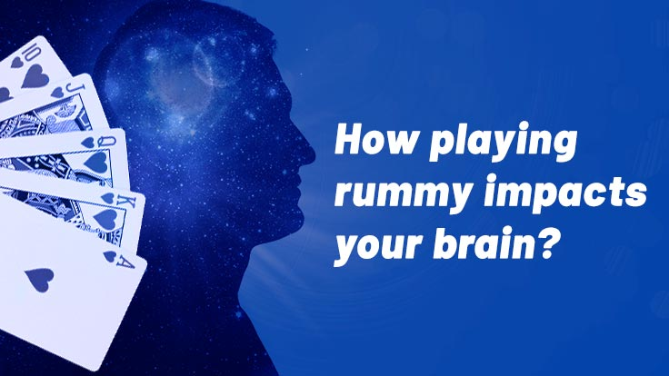 How online rummy impacts your brain