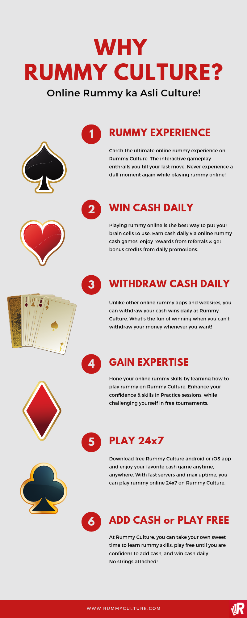 6 Reasons Why Rummyculture is the best app for online rummy