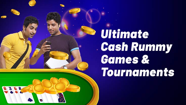 Play the Ultimate Rummy Cash Games and Tournaments