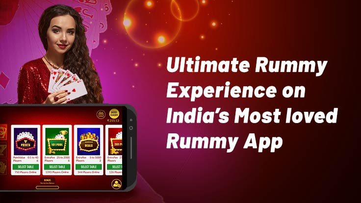 Ultimate rummy experience on Indais most loved rummy app