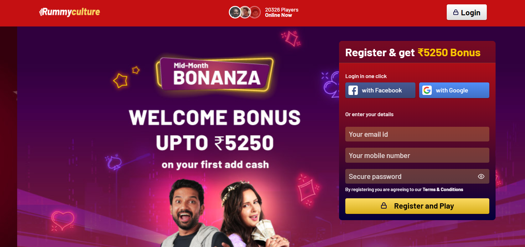 How to register to play rummy online