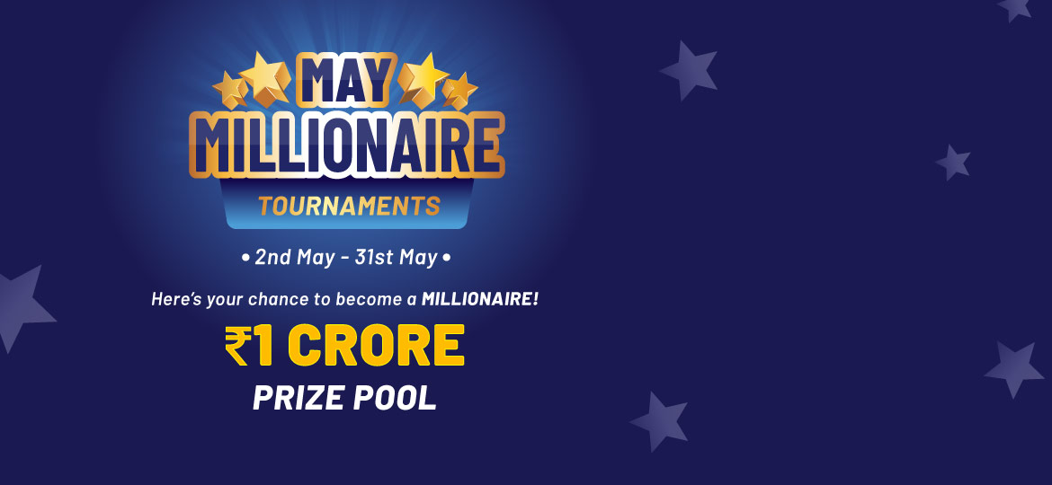 May Millionaire Tournament